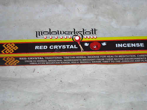 Red Crystal Incense