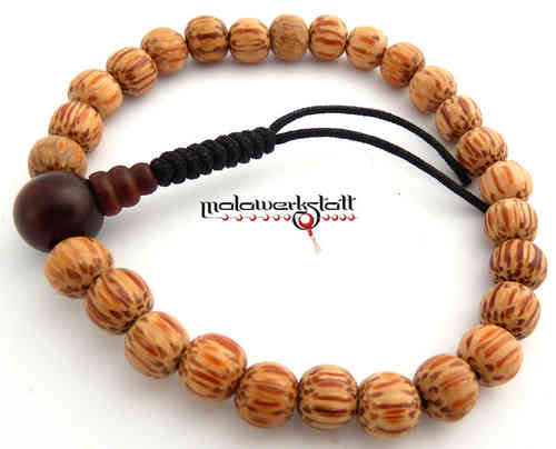 Palmwood hell mit Red Ebony - Pocketmala